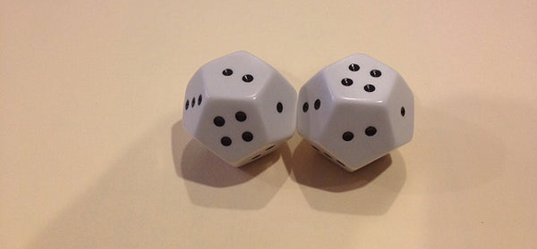 Lg 12 Sided Spotted Dice