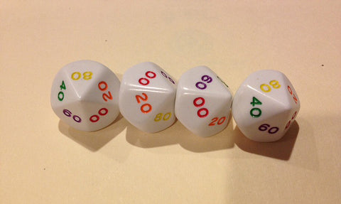 Rainbow Dice DT10