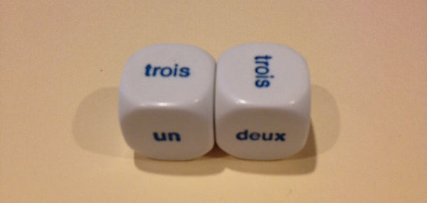 French Dice 1-6