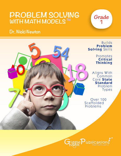 Problem Solving With Math Models Grade 1 (Color)