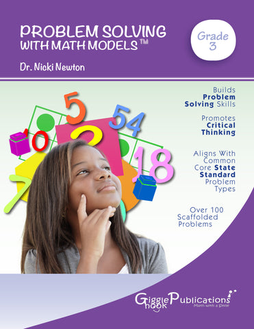 Problem Solving With Math Models Grade 3 (Black & White)