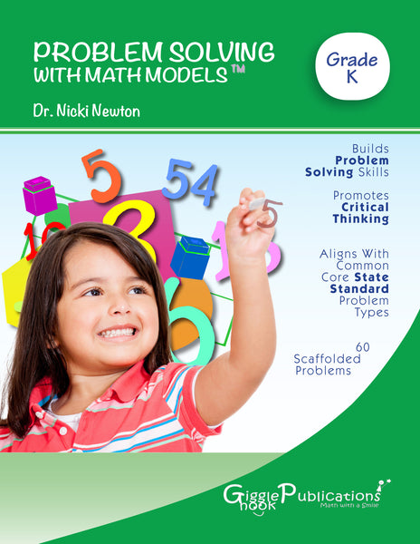 Problem Solving With Math Models Grade K (Black & White)