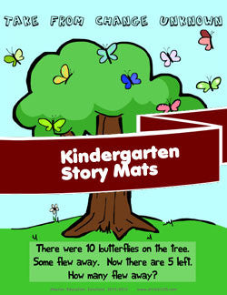Kindergarten Story Mats (Download)