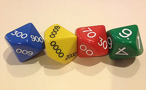 Jumbo 29MM Place Value Dice
