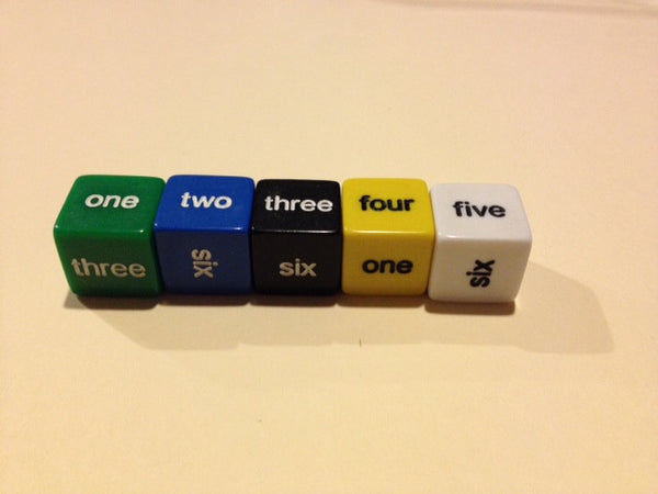 Word Number Dice