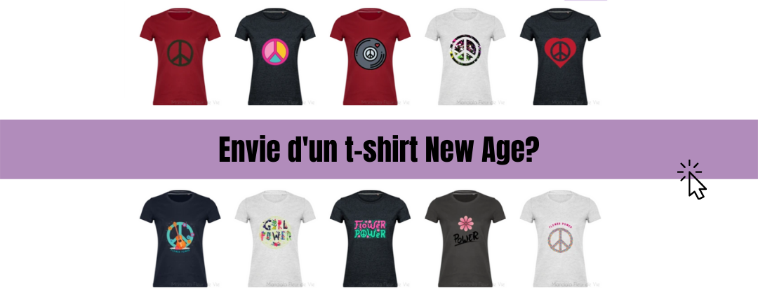 T shirt New Age