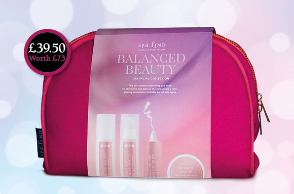 Spa Find Balanced Beauty Facial Gift Collection