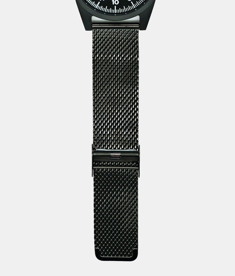 Black PVD Stainless Steel Milanese Strap Only
