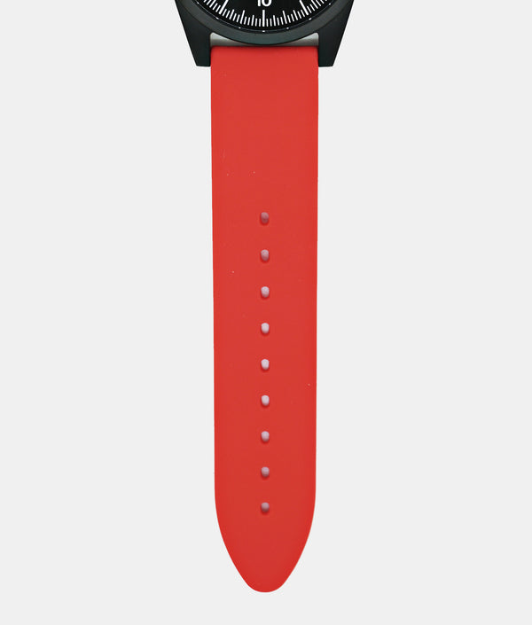 Red Silicone Strap Only