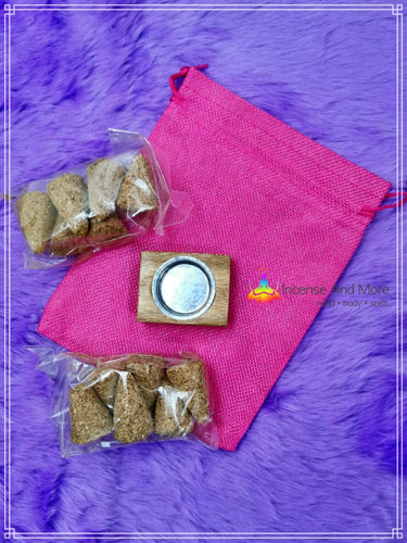 PURE Palo Santo Incense Cones with Burner