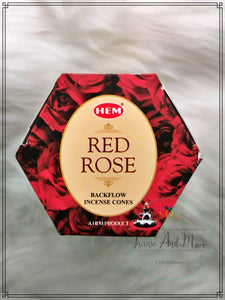 Rose Backflow Incense Cones