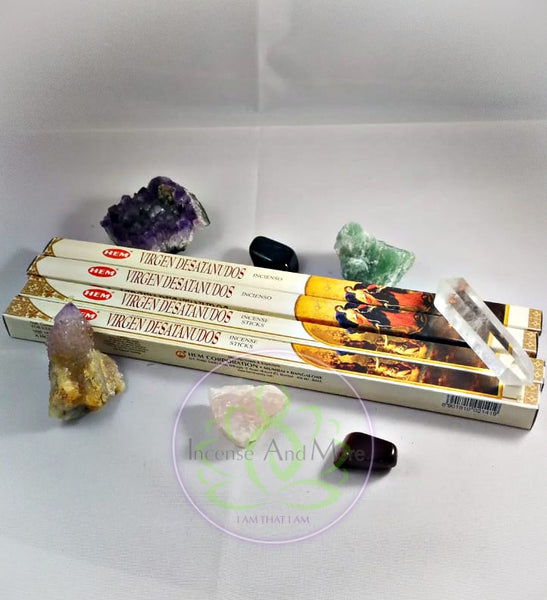 Virgen Desatanudos Incense Sticks