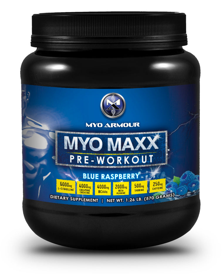 Myo-Maxx PreWorkout - 570g 30 servings