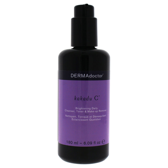 Kakadu C Brightening Daily by DERMAdoctor for Women - 6.09 oz Cleanser