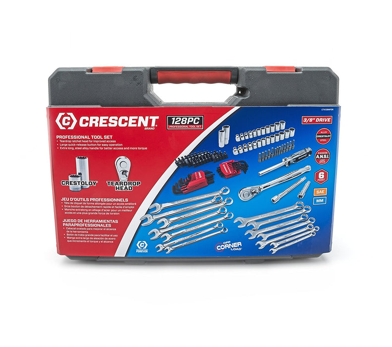 Crescent CTK128MP2N 128-Piece Mechanics Tool Set