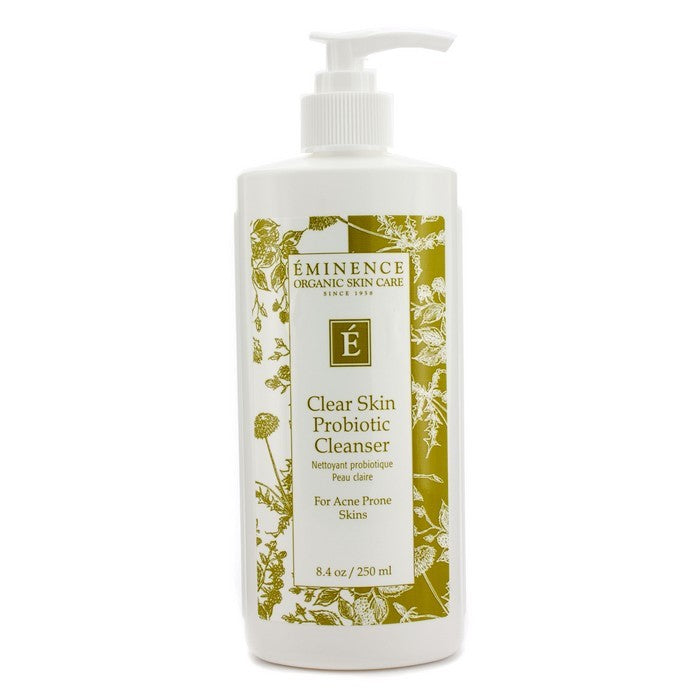 Eminence Organic Skin Care Clear Skin Probiotic Facial Cleanser, 8.4 Oz