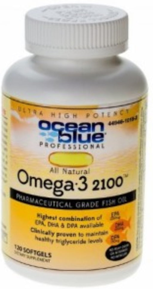 Oceanblue Professional Omega-3 Softgels, 2100 Mg, 120 Ct