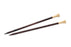 "Lantern Moon 12"" Ebony Knitting Needles Size 3 (3.25mm)"