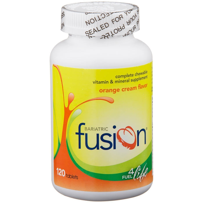 Bariatric Fusion - Complete Chewable Multivitamin and Mineral Supplement - Orange Cream - 120 Tablets