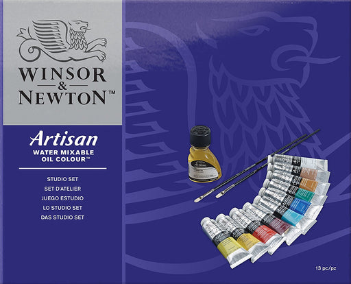 Winsor & Newton - Artisan Water Mixable Oil Colour Studio Set - Artisan Studio Set