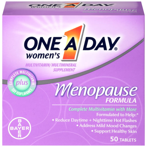 One A Day Women's Menopause Formula Multivitamin Supplement, 50 Count