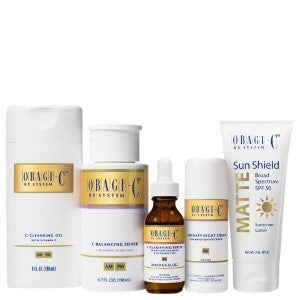 Obagi-C Fx System Norm-Oily Facial Skin Care Cleansing Regimen
