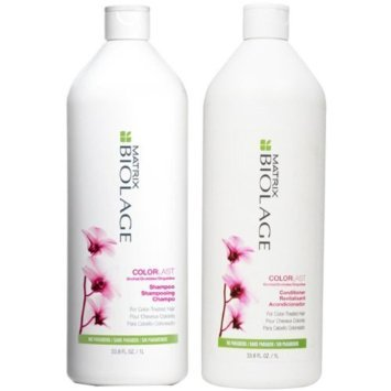 Biolage COLORLAST Shampoo and Conditioner Liter Duo (33.8 oz each)