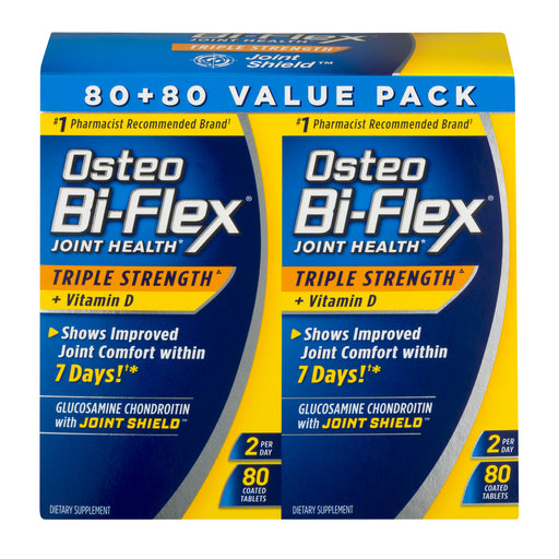 Osteo Bi-Flex Joint Health Dietary Supplement Value Pack, 160 count
