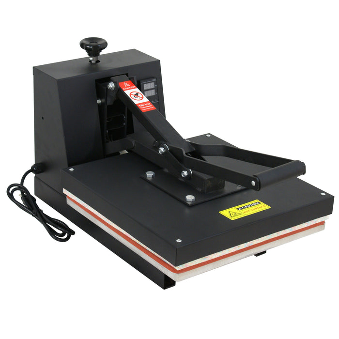 "Zeny TEFLON 15X15"" CLAMSHELL HEAT PRESS T-SHIRT Digital TRANSFER SUBLIMATION MACHINE"