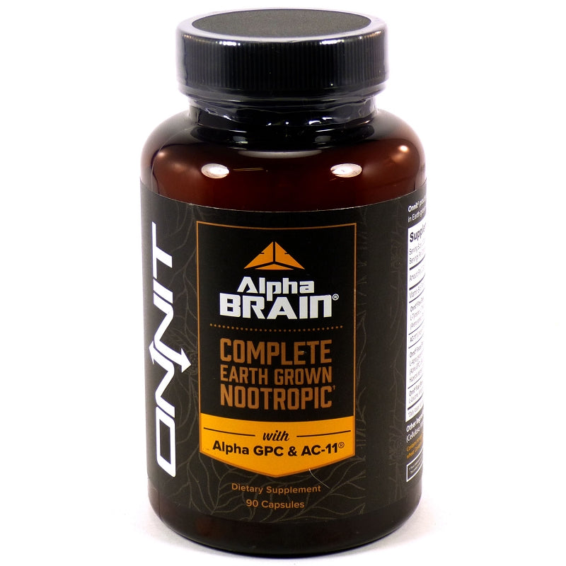 Alpha Brain by Onnit - 90 Capsules