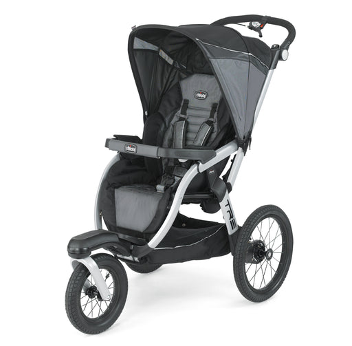 Chicco TRE KeyFit Fit2 Compatible Lightweight Infant Jogging Stroller, Titan