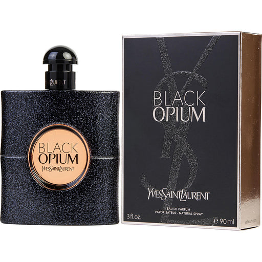 Yves Saint Laurent Black Opium Eau De Parfum Spray for Women 3 oz