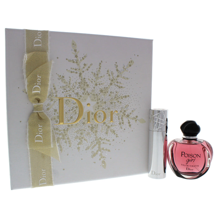 Christian Dior Poison Girl Perfume Gift Set for Women, 2Pc