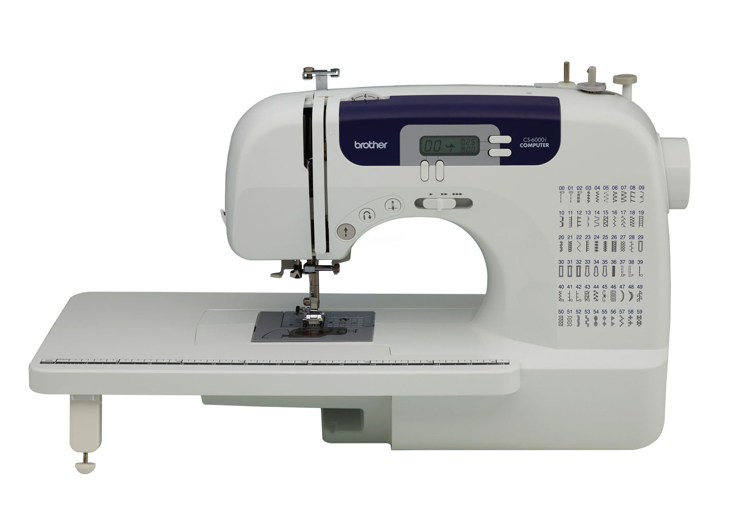 Brother CS6000i Feature-Rich Computerized Sewing Machine With 60 Built-In Stitches