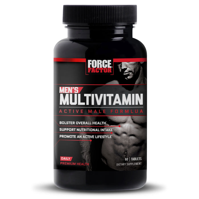 Force Factor Men's Multivitamin, 60 Ct