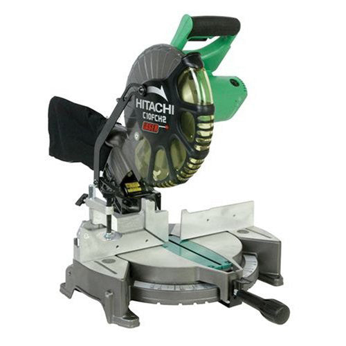 Hitachi 15-Amp 10-Inch Laser Compound Miter Saw, C10FCH2