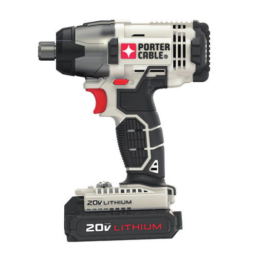 PORTER CABLE 20-Volt Max Lithium-Ion Cordless 1/2-Inch Drill And Impact Driver Combo Kit, PCCK604L2