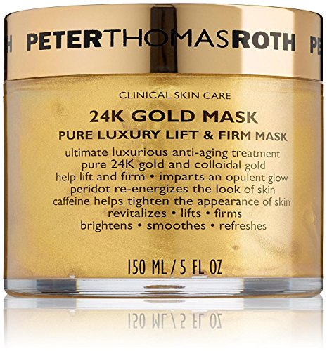 Peter Thomas Roth 24K Gold Pure Luxury Lift & Firm Face Mask, 5 Oz