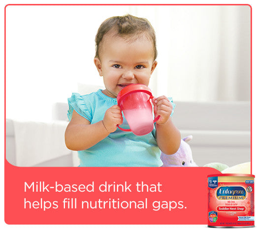 Enfagrow PREMIUM Toddler Next Step Natural Milk Powder, 24 oz Can, 4 Count