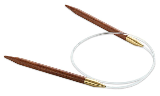 "Lantern Moon 16"" Rosewood Circular Knitting Needles US 9"