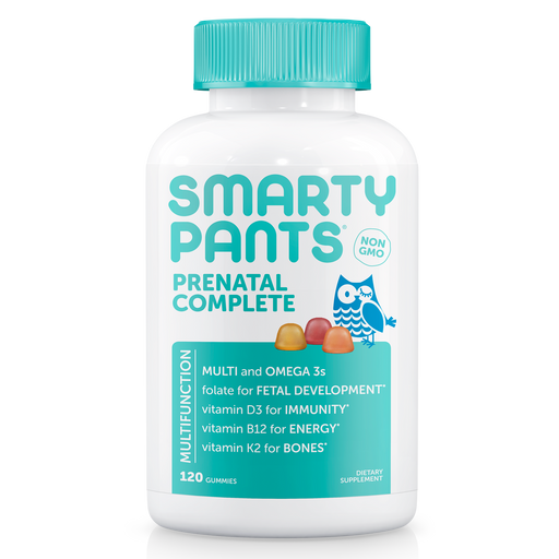 SmartyPants Prenatal Complete Multivitamin Gummies, 120 Ct