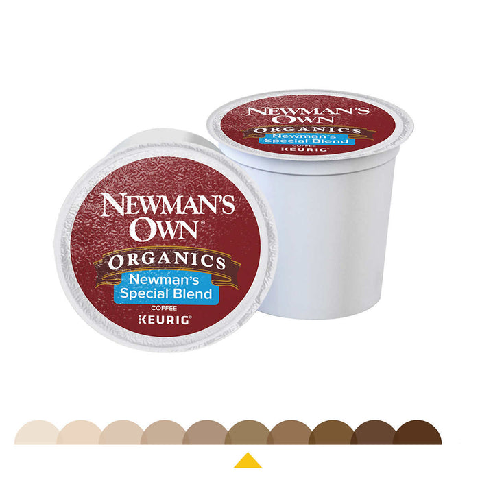 Newman's Own Organics Special Blend, Medium Roast, K-Cup Pods 100ct