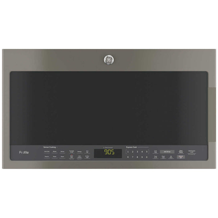 GE Profile 2.1CuFt Over-the-Range Sensor Microwave Oven