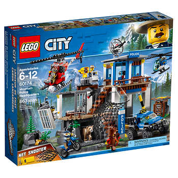 LEGO CITY Mountain Police Headquarters