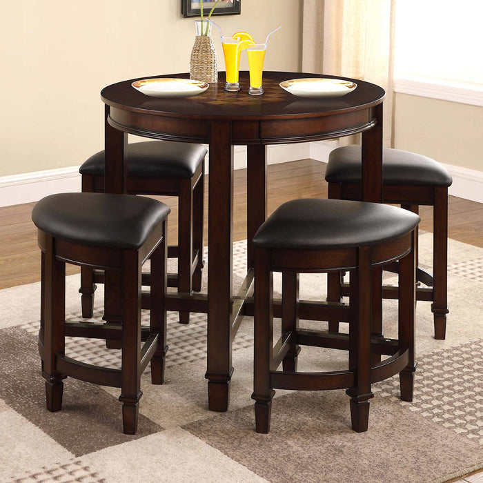 5-piece Game Top Table