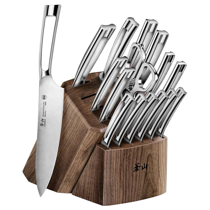 Cangshan N1 Series German Forged Steel 17-piece Knife Block Set