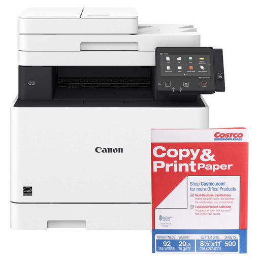 Canon imageCLASS MF733CDW Wireless Color Duplex Laser Printer with Bonus 500 Sheets of Paper