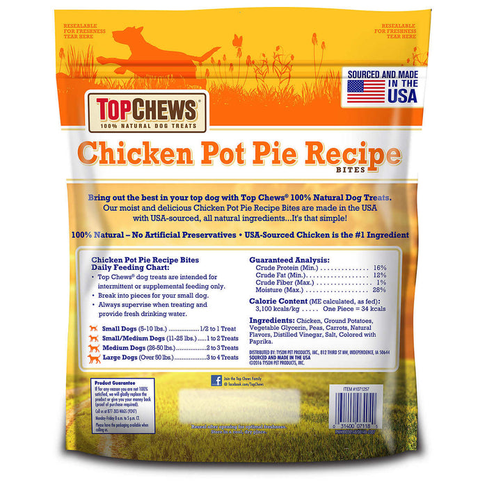 Top Chews Chicken Pot Pie Treats, 40 oz.