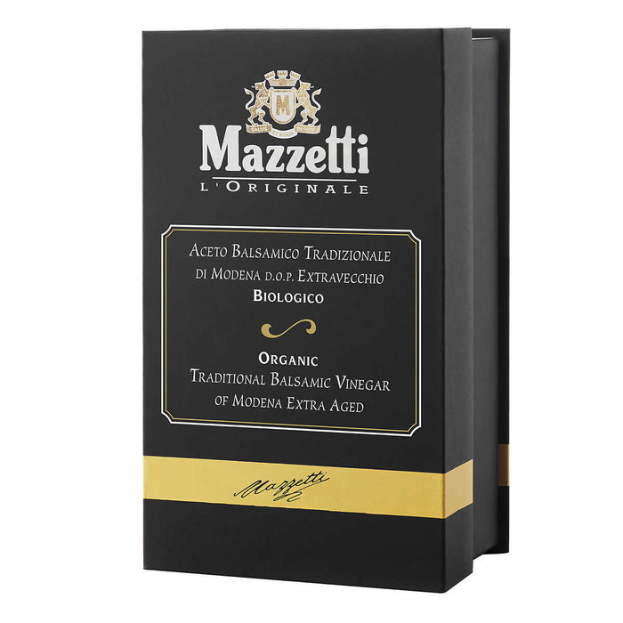 Mazzetti Organic Traditional Balsamic Vinegar of Modena Aged 25 Years