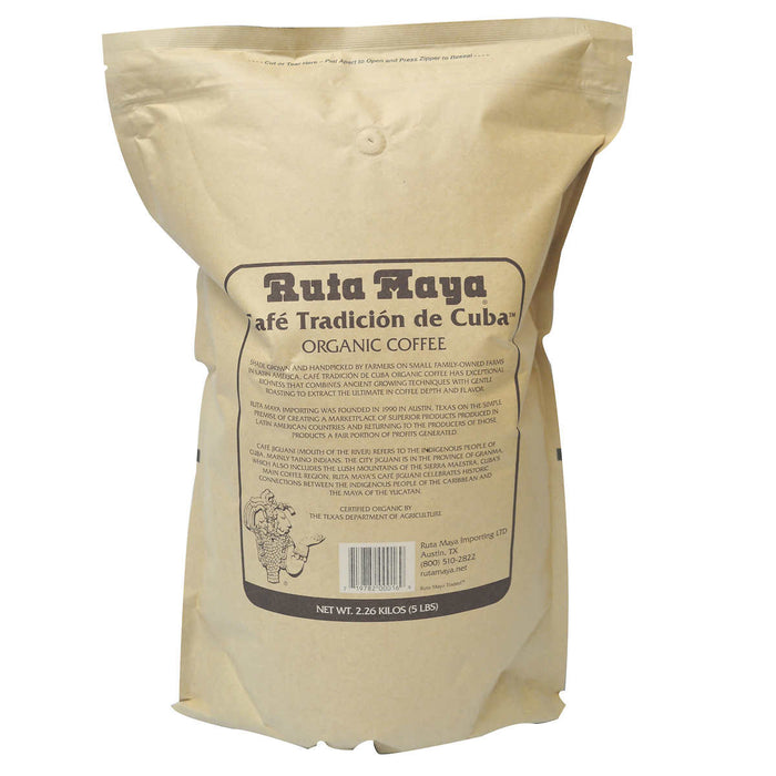 Ruta Maya Organic Jiguaní Whole Bean Coffee 5 lb